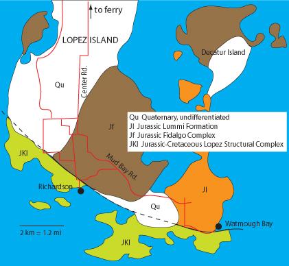 PILLOW LAVA IN THE SAN JUAN ISLANDS  Northwest Geology Field Trips