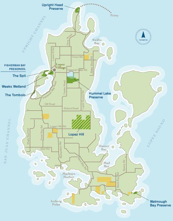 Lopez Island Washington Verizon Reception Map