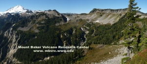 Kuslhan caldera, Mount Baker, and Table Mountain volcanics can all be examined along the Ptarmigan Trail.
