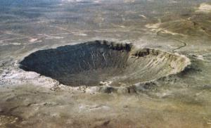 This photo appeared on teh 'meteor craters' post on Ask Dr. Rock.