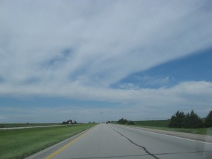 """This one illustrated """"Why si the Midwest so flat?"""""""
