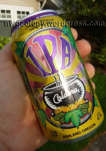 Unpaid ad. No endorsement is made or implied by using this image of a Caldera beer can.