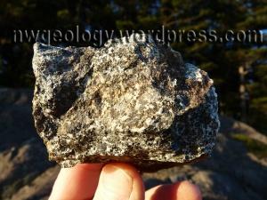 Mount Erie diorite.