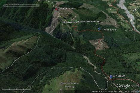 Google Earth Racehorse view