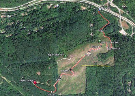 Chuck Rd map