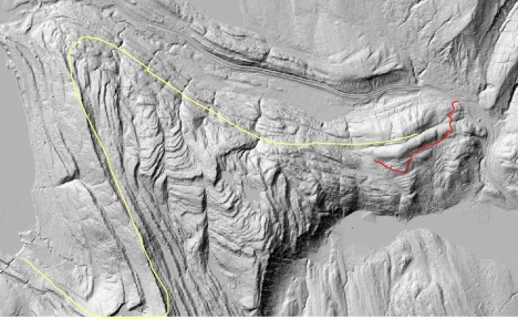 Chuckanut folds LiDAR with road